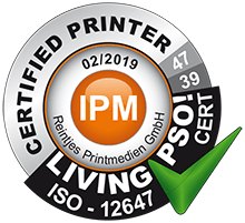 Certified Printer IPM - reintjes printmedien